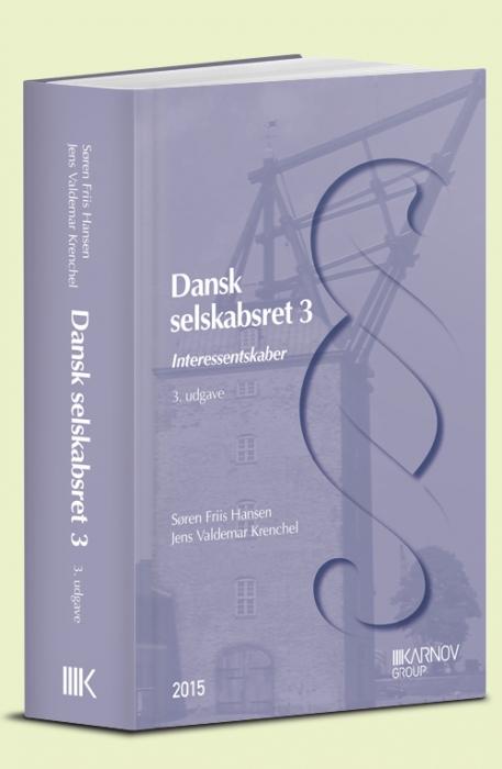 Image of   Dansk selskabsret 3 (Bog)
