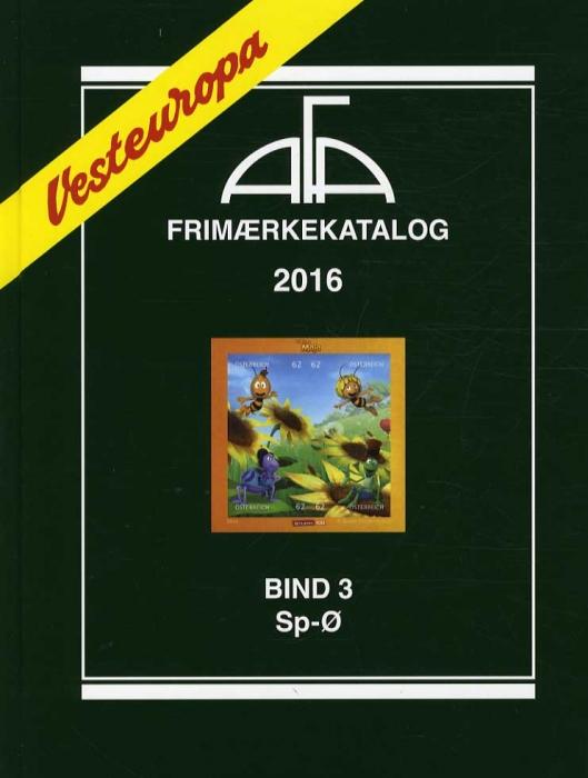 Image of   AFA Vesteuropa 2016 Bind 3 (Bog)