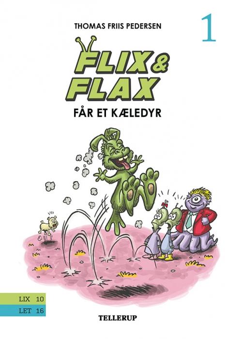 Image of   Flix & Flax #1: Flix & Flax får et kæledyr (Bog)