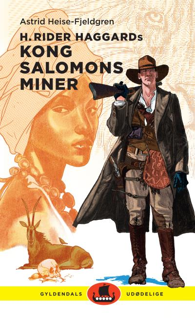 Image of H. Rider Haggards Kong Salomons miner (Lydbog)
