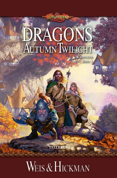 DragonLance Krøniker #1: Dragons of Autumn Twilight (Bog)