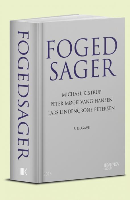 Image of   Fogedsager (Bog)