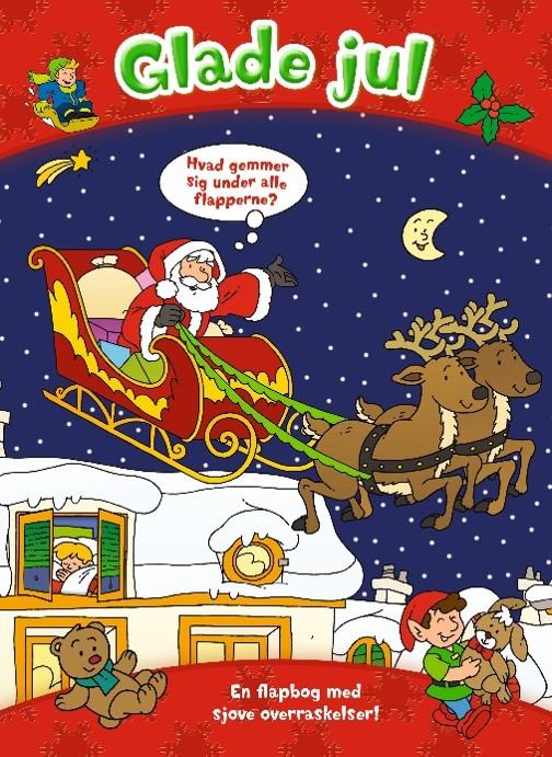 Image of   Den store flapbog: Glade jul (Bog)