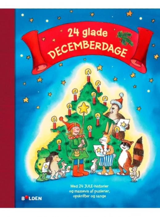 Image of   24 glade decemberdage (Bog)