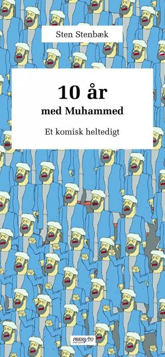 Image of   10 år med Muhammed (Bog)