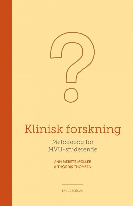 Image of Klinisk forskning (Bog)