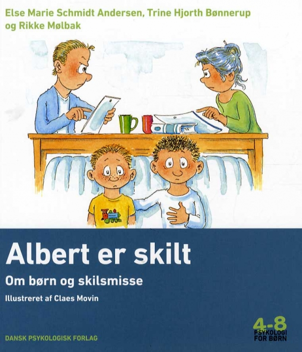 Image of   Albert er skilt (Bog)