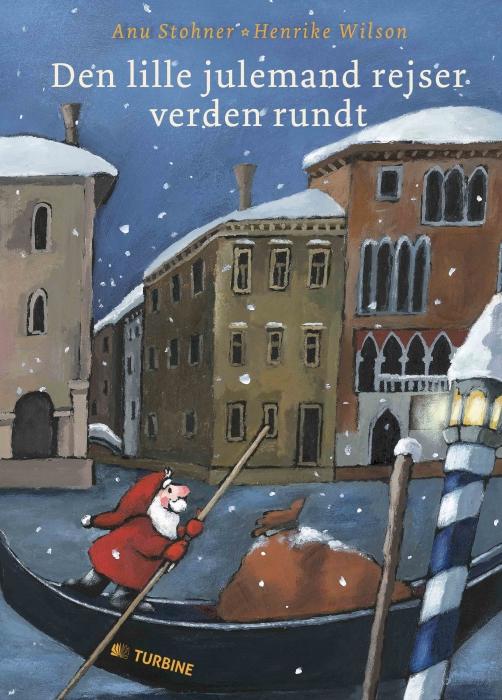 Image of Den lille julemand rejser verden rundt (Bog)