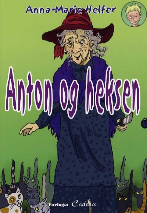 Image of Anton og heksen (Bog)