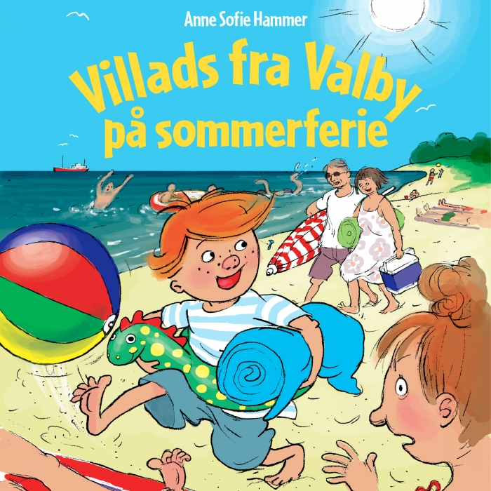 Image of Villads fra Valby på sommerferie (Lydbog)