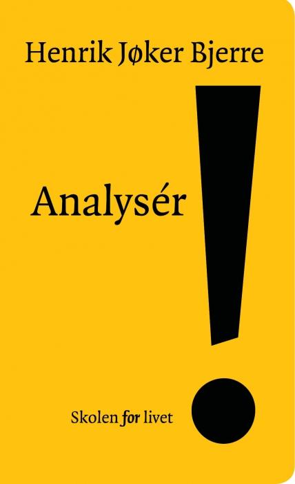 Image of   Analysér! (Bog)