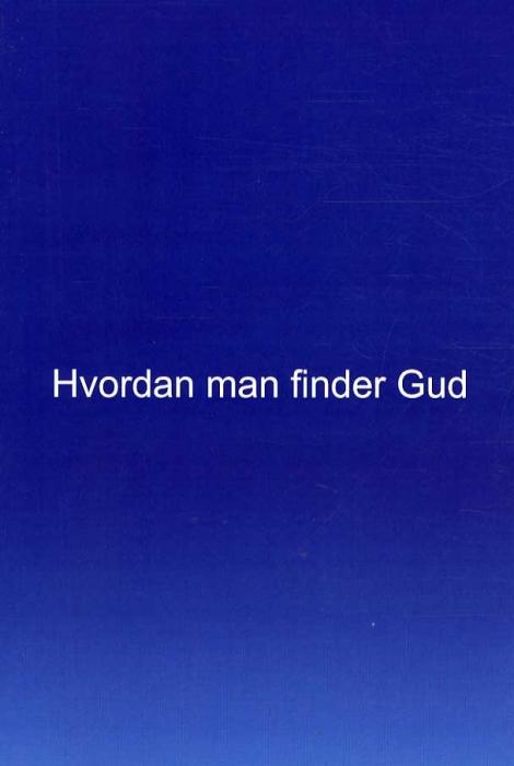 Hvordan man finder Gud (Bog)