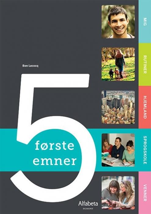 Image of   5 første emner (Bog)