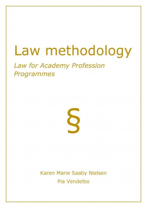 Image of   Law methodology (E-bog)