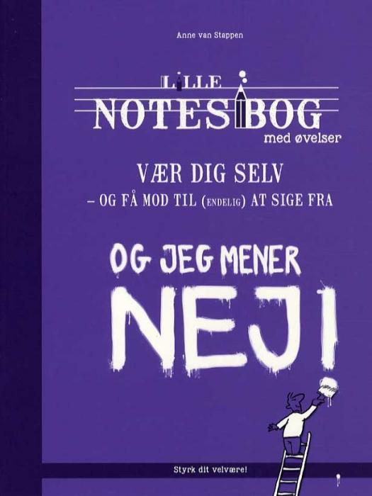Image of Lille notesbog med øvelser - Vær dig selv (Bog)