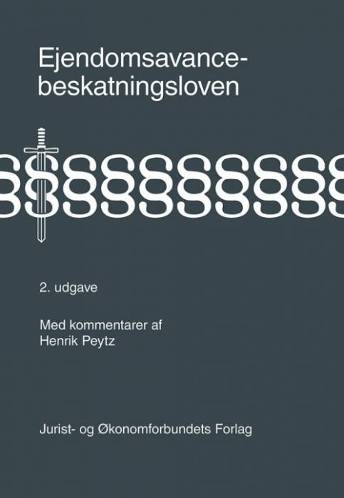 Image of   Ejendomsavancebeskatningsloven (Bog)
