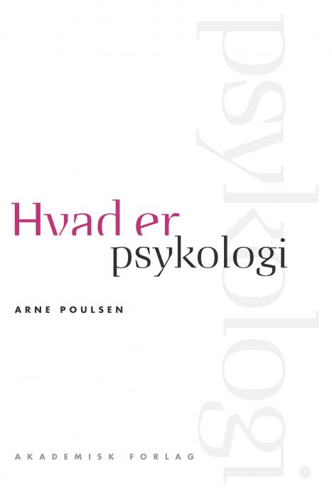 Image of Hvad er psykologi (E-bog)