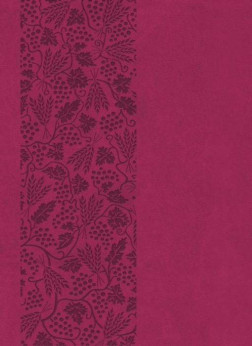 Image of   Bibelen på Hverdagsdansk, trend kunstlæder, vinrød (Bog)