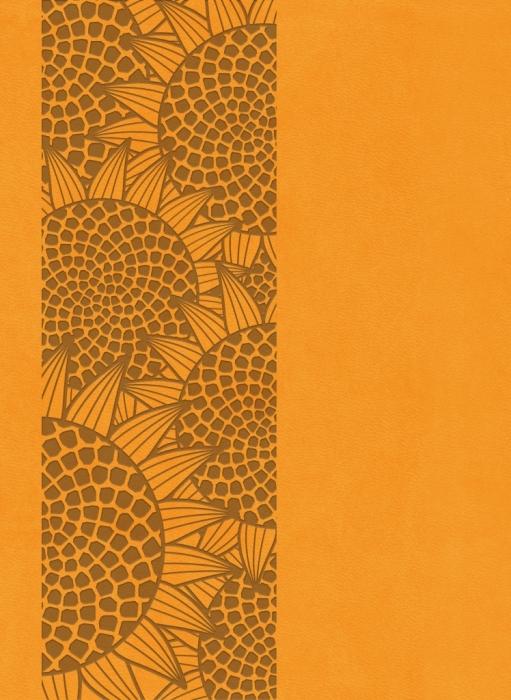 Image of   Bibelen på Hverdagsdansk, trend kunstlæder, orange (Bog)
