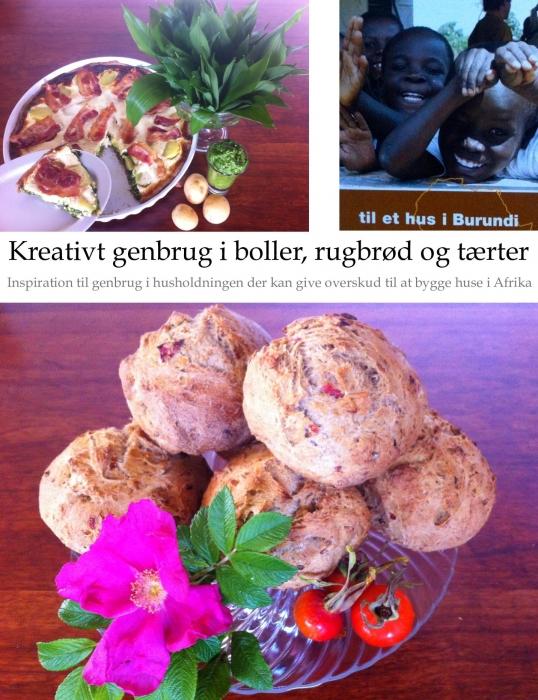 Image of Kreativt genbrug i boller, rugbrød og tærter (Bog)