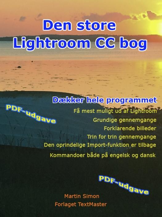 Image of   Den store Lightroom CC bog (E-bog)