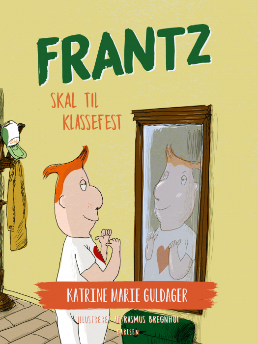 Frantz-bøgerne (9) - Frantz skal til klassefest (E-bog)