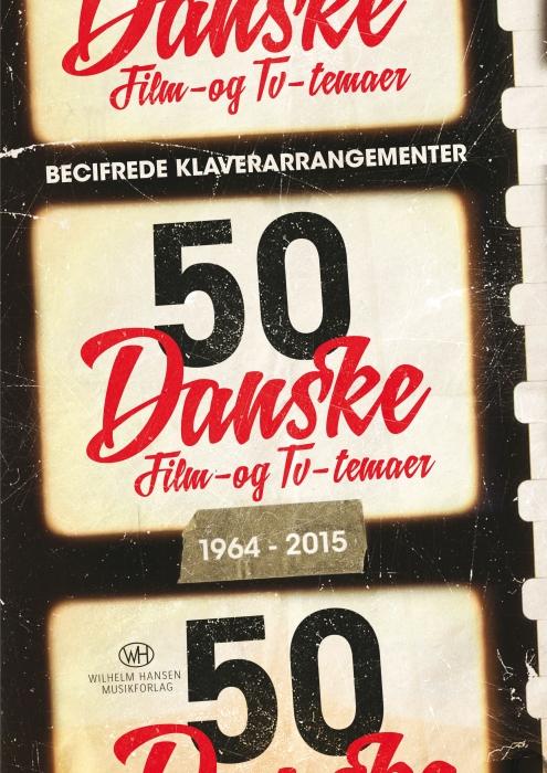 Image of   50 danske film- og tv-temaer (Bog)