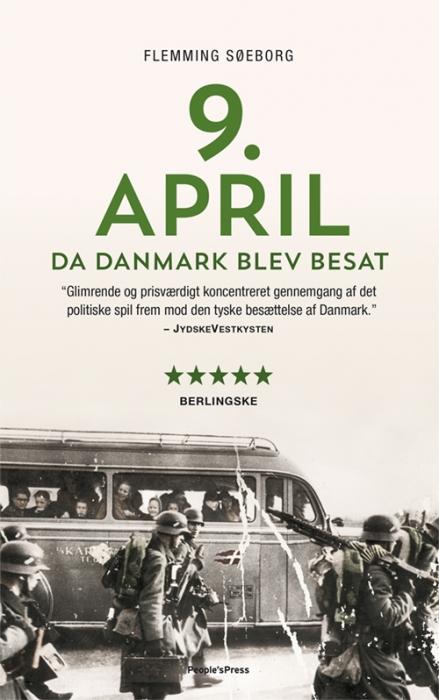 Image of   9. april. Da Danmark blev besat PB (Bog)
