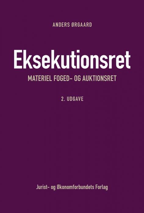 Image of Eksekutionsret - materiel foged- og auktionsret (Bog)