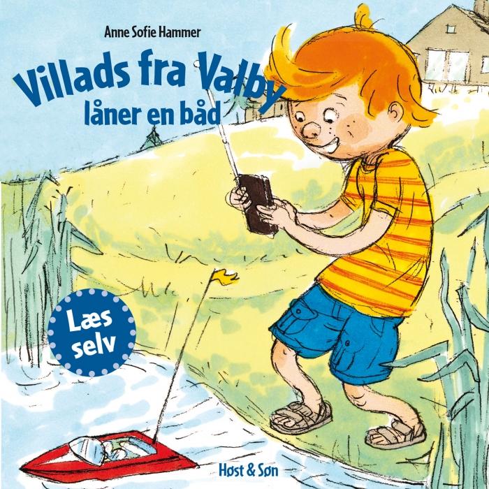 Image of Villads fra Valby låner en båd (Lydbog)