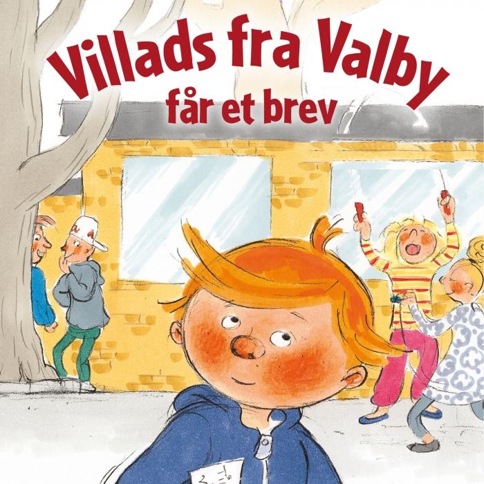 Image of Villads fra Valby får et brev (Lydbog)