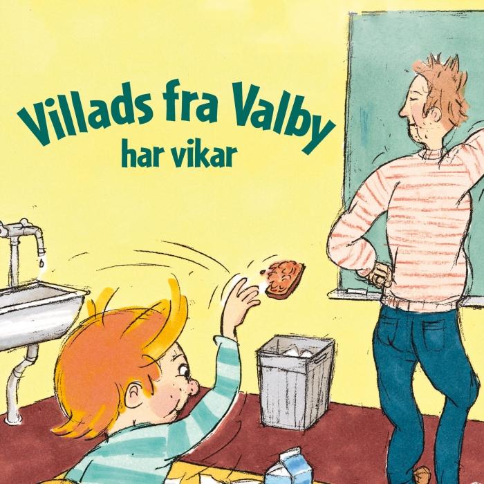 Image of Villads fra Valby har vikar (Lydbog)