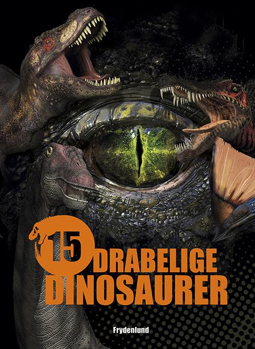 Image of   15 drabelige dinosaurer (Bog)