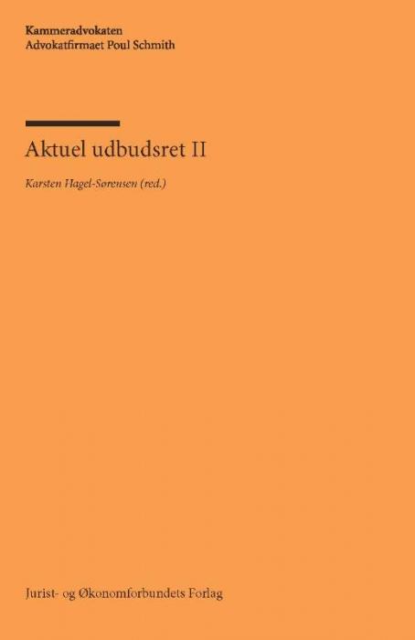 Image of   Aktuel udbudsret II (Bog)