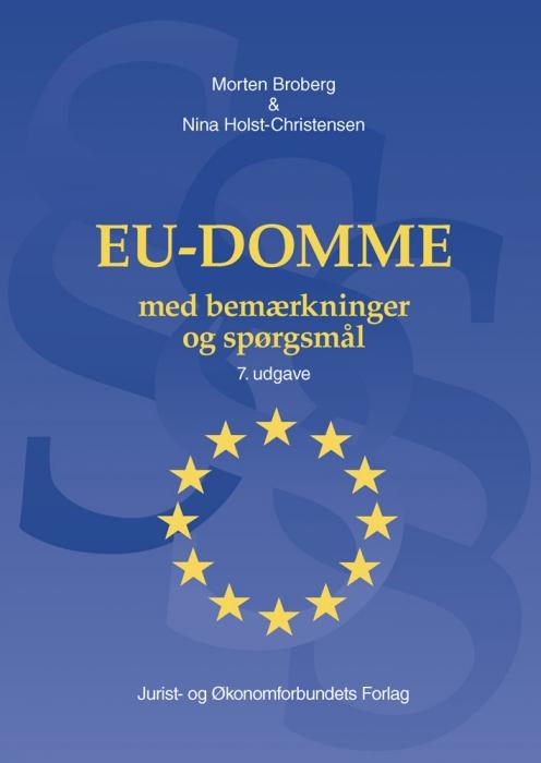 EU-Domme med bemærkninger  og spørgsmål (Bog)