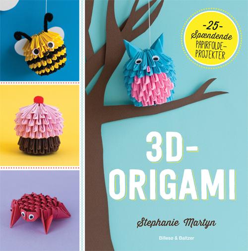 Image of   3D-Origami (Bog)