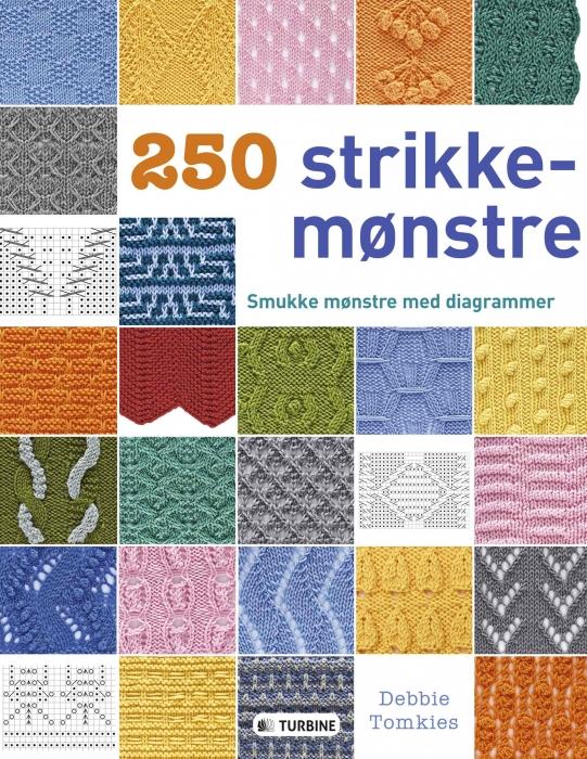 Image of   250 STRIKKEMØNSTRE (Bog)