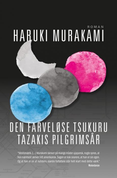 Image of   Den farveløse Tsukuru Tazakis pilgrimsår (PB) (Bog)