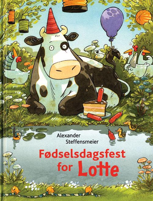 Image of Fødselsdagsfest for Lotte (Bog)