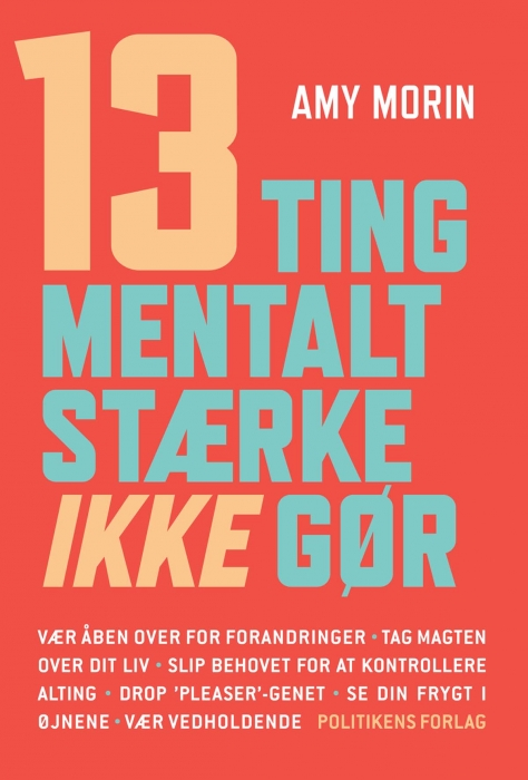 Image of 13 ting mentalt stærke IKKE gør! (Bog)