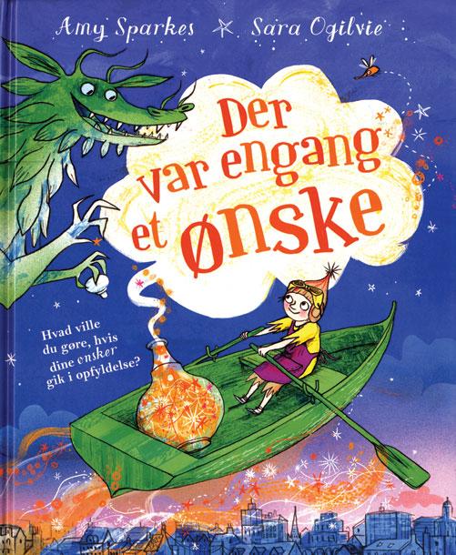 Image of Der var engang et ønske (Bog)