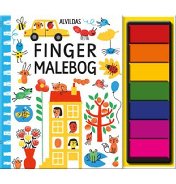 Image of   Alvildas fingermalebog (Bog)