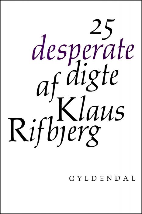 Image of   25 desperate digte (E-bog)