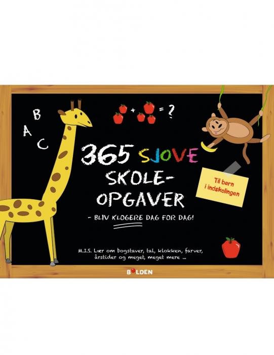 Image of   365 sjove skoleopgaver (Bog)