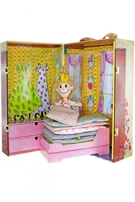 H.C. Andersen doll box - Prinsessen på ærten (Bog)