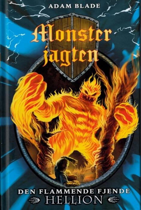 Image of Den flammende fjende Hellion (Bog)