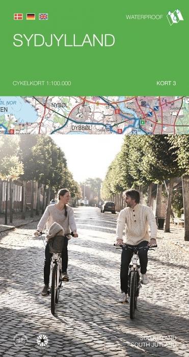 Image of   Cykelkortserie Danmark 3: Sydjylland (Bog)