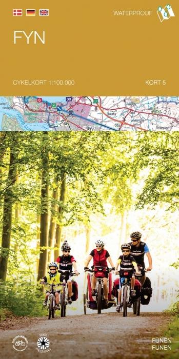Image of   Cykelkortserie Danmark 5: Fyn (Bog)