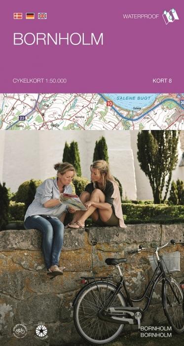 Image of   Cykelkortserie Danmark 8: Bornholm (Bog)