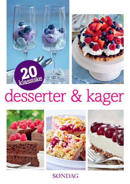 Image of   20 klassiske desserter og kager (E-bog)